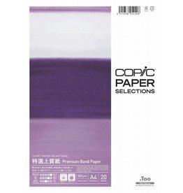 COPIC Paper Selections, Premium Bond Paper, A4, 20 Blatt, 157 g/m²