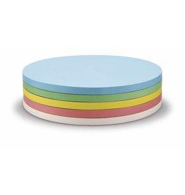 magnetoplan Selbstklebende Moderationskarten, Kreise 190mm