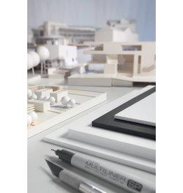 transotype Foam Boards weiß, 3 mm, Gr. 50 x 70 cm (25 Stk.), 3 mm