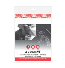 transotype Transfer Papier by X-Press It, Inhalt Rolle 432 mm x 3,7 m