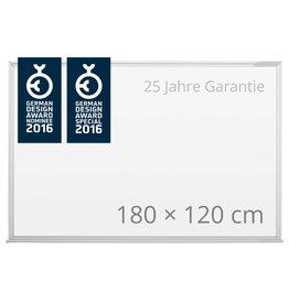 magnetoplan Design-Whiteboard CC, Größe 180 x 120 cm (BxH)