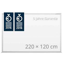 magnetoplan Design-Whiteboard SP, Größe 220 x 120 cm (BxH)