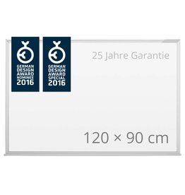 magnetoplan Design-Whiteboard CC, Größe 120 x 90 cm (BxH)
