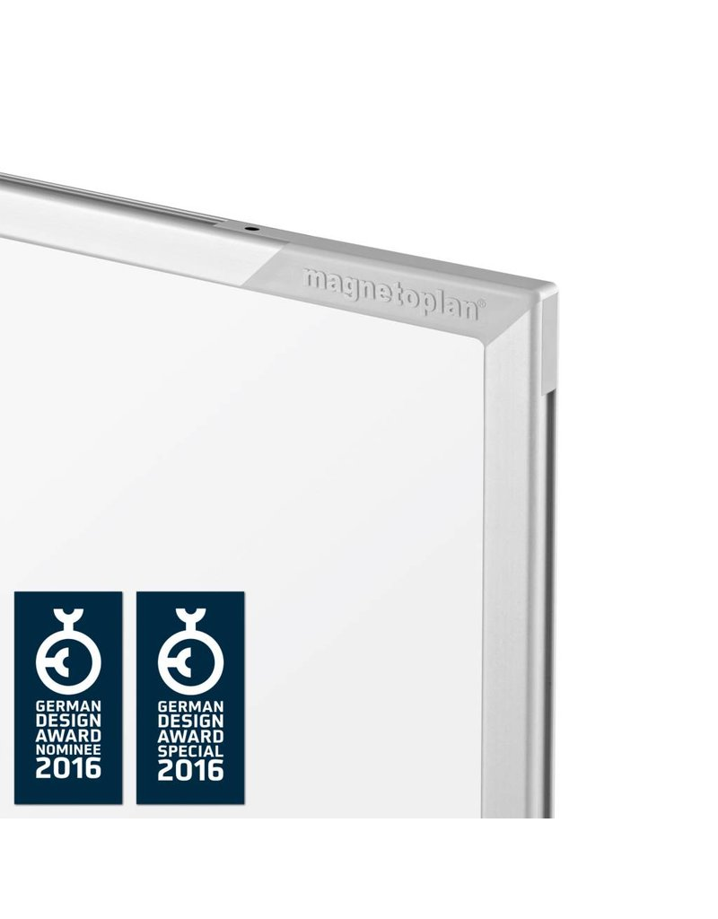 magnetoplan Design-Whiteboard SP, mobil, Größe 180 x 120 cm (BxH)