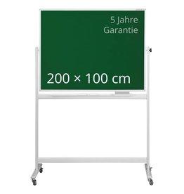 magnetoplan Design-Kreidetafel SP grün, mobil, Gr. 200 x 100 cm (BxH)