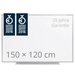 magnetoplan Schreibtafel ferroscript, einseitig, Größe 150 x 120 cm (BxH)
