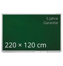 magnetoplan Design-Kreidetafel SP, grün, Größe 220 x 120 cm (BxH)