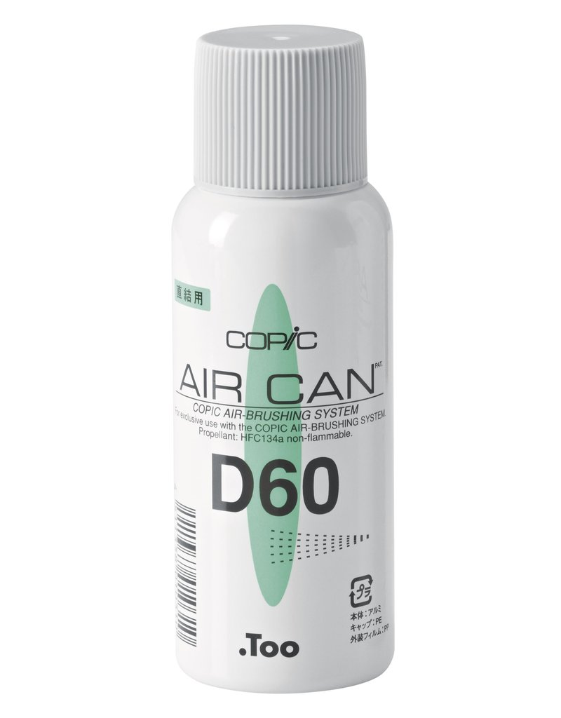 COPIC Air Can, Druckluftdose für Airbrush, 60 g