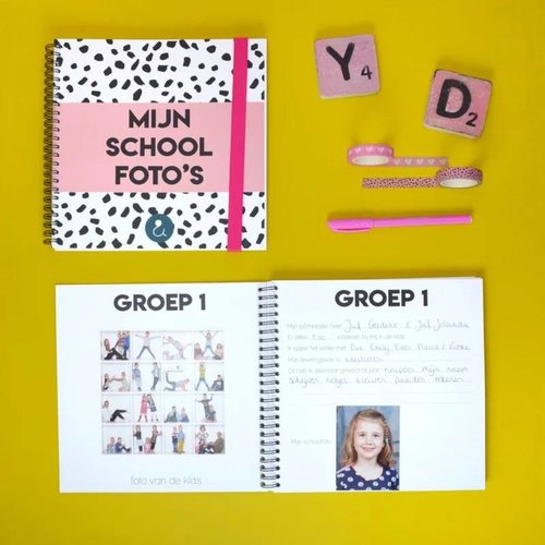 Studio Ins & Outs Schoolfotoboek Mint