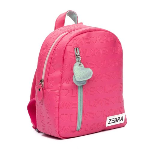 ZEBRA Rugzak LOVE Pink