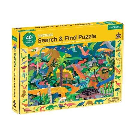 Mudpuppy Zoek & Vind Puzzel Dinosaurs - 64 stukjes