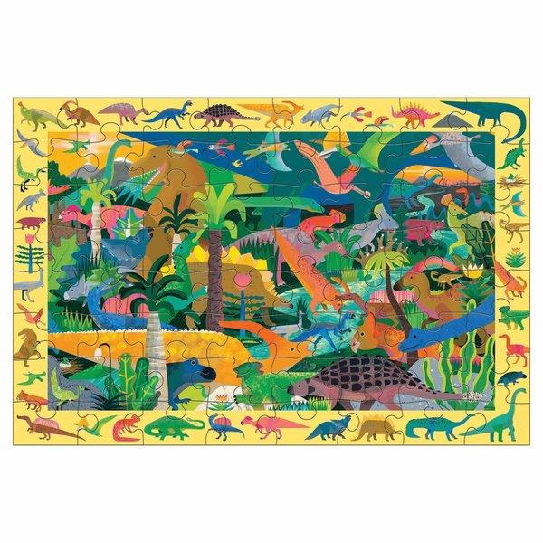 Zoek & Vind Puzzel Dinosaurs - 64 stukjes