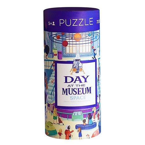 Crocodile Creek Puzzel Een Dag In Het Museum - Space - 72 stukjes