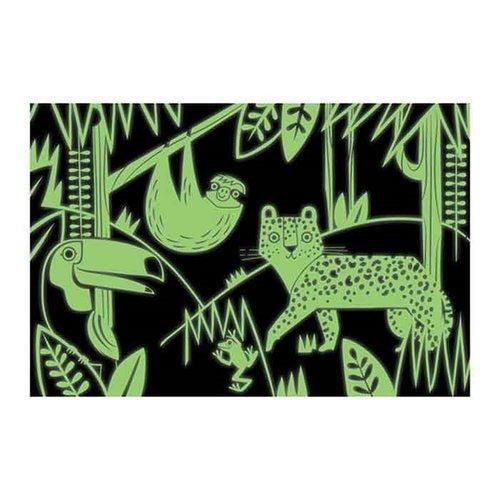 Mudpuppy Glow In The Dark Puzzel Rainforest - 100 stukjes
