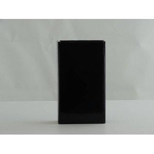 claerpack Boîte aimantée  7 x 12 x 3 cm  noir brillant