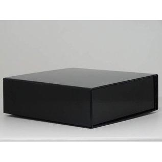 claerpack boîte magnétique 15 x 15 x 5 cm  noir brillant