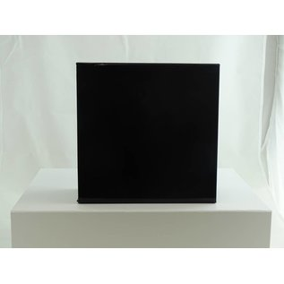 claerpack boîte magnétique 22 x 22 x 10 cm  noir brillant