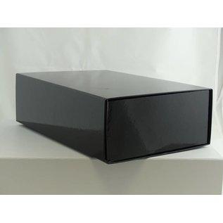 claerpack Magneetdoos 22 x 33 x 10 cm  zwart blinkend