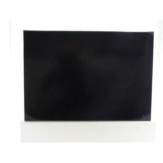 claerpack Magneetdoos 26 x 37 x 6  cm  zwart blinkend