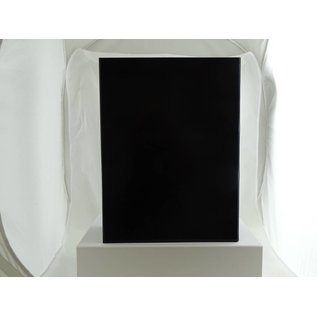 claerpack boîte magnétique 30 x 40 x 10  cm  noir brillant