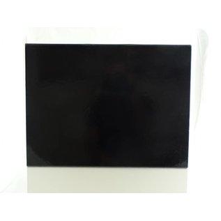 claerpack Magneetdoos 30 x 40 x 10  cm  zwart blinkend