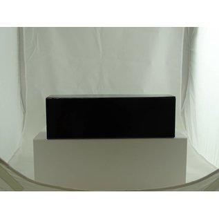 claerpack boîte magnétique 33 x 10.5 x 10.5 cm  noir brillant  pour vin pétillant