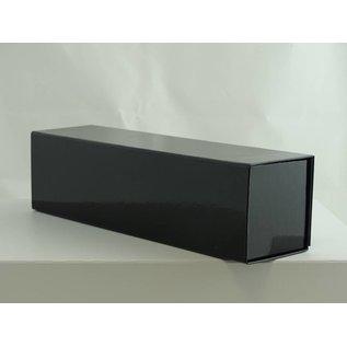 claerpack boîte magnétique noir brillant  33 x 9 x 9cm  pour vin