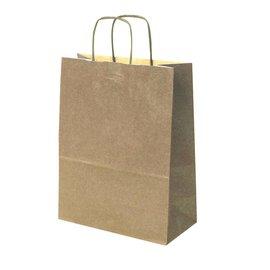 claerpack bth BTH sacs en kraft brun avec des poignées torsadées