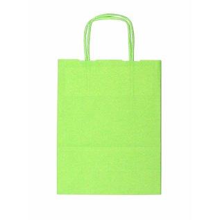 claerpack bth BTH blanc sacs avec des poignées torsadées couleur Green