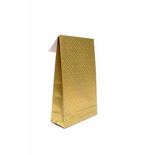 claerpack giftbag Geschenkzak Tile Gold R67202B