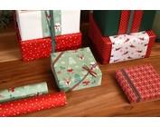 Papier cadeau Noël