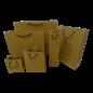torino claerpack Torino 20 x 10 x 25 cm sac en kraft avec des cordelières noir