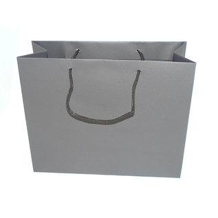 torino claerpack TORINO  32 X 13 X 26 cm kraftzak met zwarte touwen