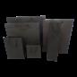 torino claerpack TORINO 32 X 12 X 41 CM  kraftzak met zwarte touwen