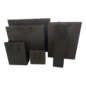 torino claerpack TORINO 42 x 12 x 38 cm  kraftzak met zwarte touwen