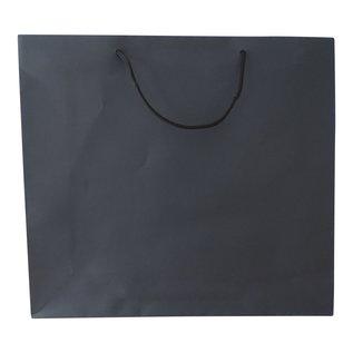 torino claerpack TORINO 54 x 12 x 45 cm  sac en kraft avec des cordelières noir