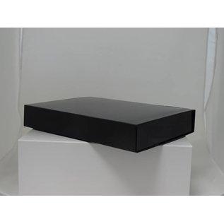claerpack Magneetdoos 26 x 37 x 6  cm  zwart mat