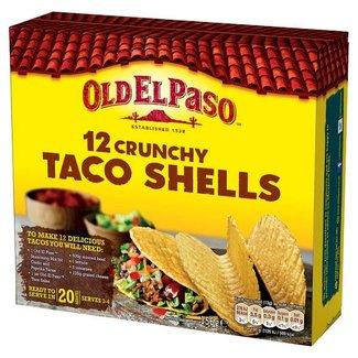 12 Crunchy Taco Shells 156gr