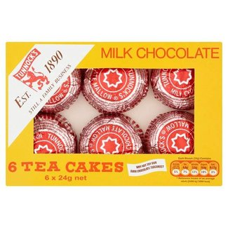 Tunnocks Teacakes Milk Chocolate 6 pack
