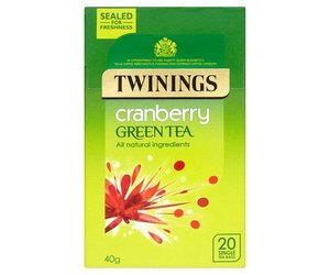 Twinings Tea Cranberry Green Tea 20s