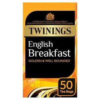 Twinings Tea English Breakfast 50s