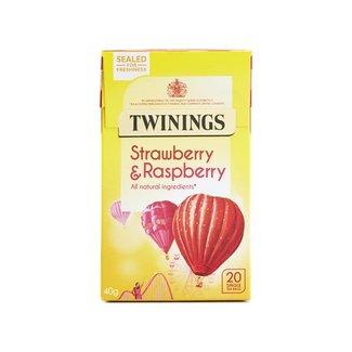 Twinings Tea Strawberry & Raspberry 20s