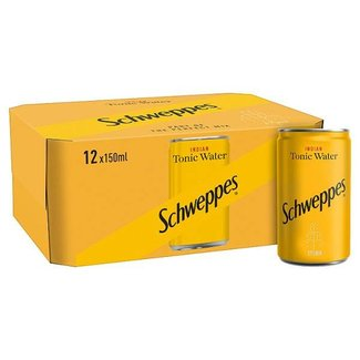 Schweppes Tonic Water 12x150ml