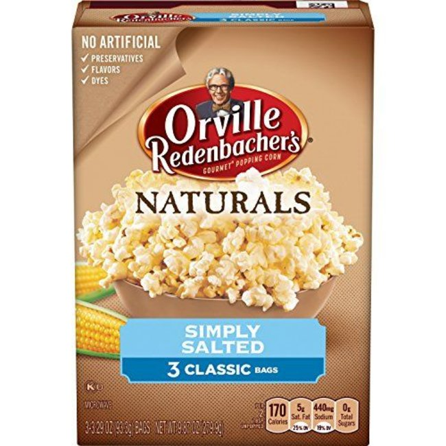 Orville Redenbacher's Simply Salted Popcorn 3 Bags