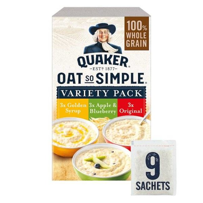 Quaker Oats Oat So Simple Variety 9s