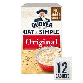 Quaker Oats Oat So Simple Original 12s