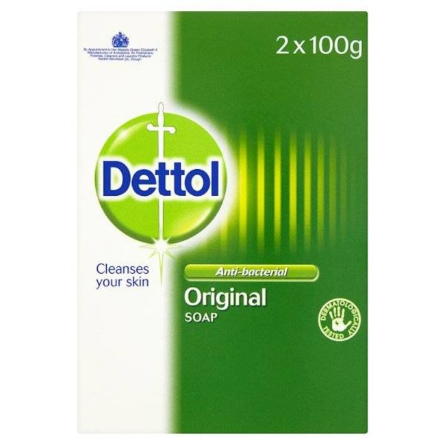 Dettol Anti-Bacterial Soap Original 2x100g