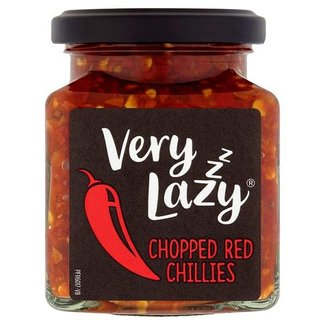 Very Lazy Chopped Red Chillies 190g