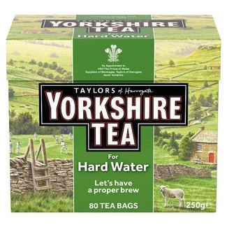 Taylors Yorkshire Tea for Hard Water 80s