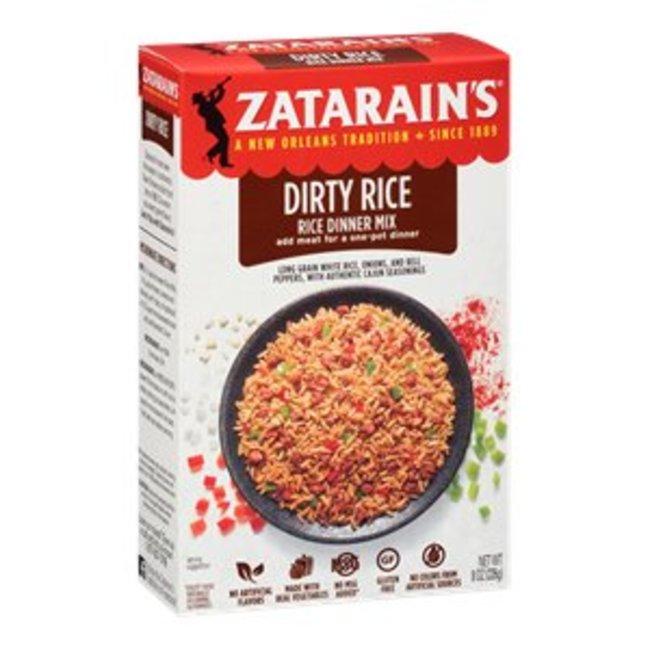 Zatarain's Dirty Rice Mix 8oz (226g)